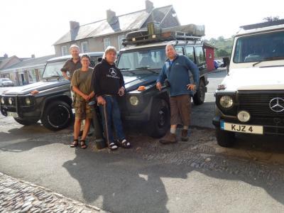 Meeting up at Llandovery